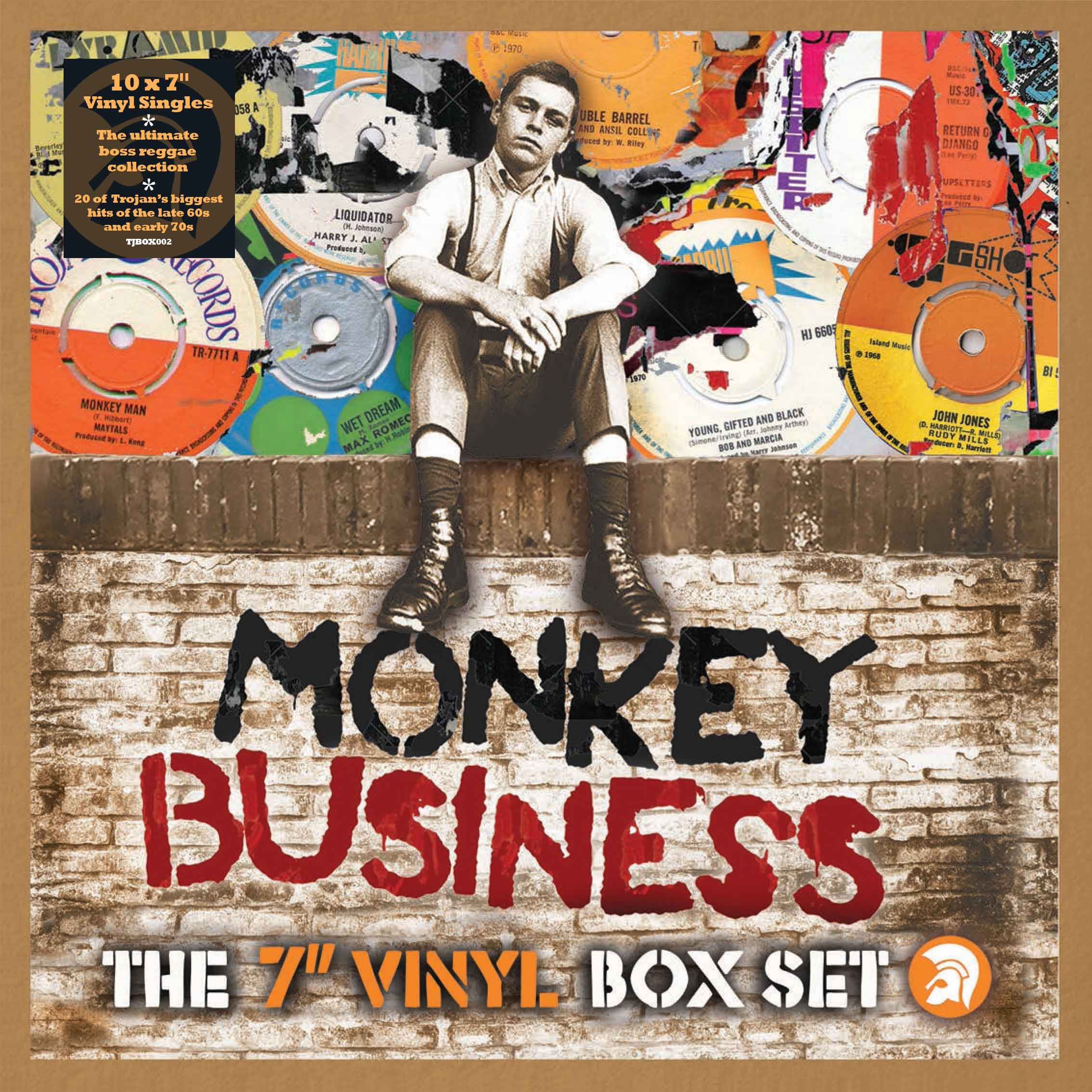 Tjbox002 Trojan Monkey Business 7 Box Lores Sticker 2